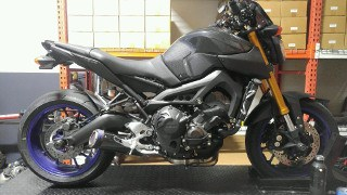 E-Series slip-on Yamaha FZ09