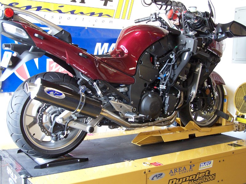 Kawasaki Concours  Full Exhaust